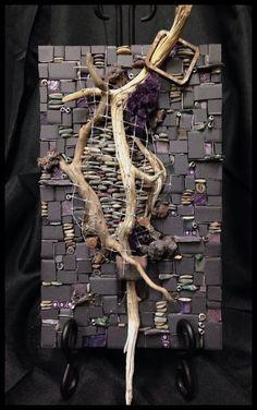 """Pocket art """"Purple"""""""