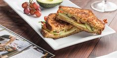 We've got something Gouda for you on #NationalCheeseLoversDay. Treat yourself to this Smoked Gouda, Bacon and Apple Grilled Cheese.