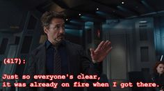 Tell the truth, Tony....