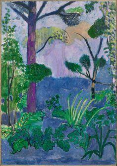 desimonewayland: Henri Matisse, Acanthus (Moroccan Landscape), 1912 Moderna Museet, Stockholm