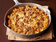 Recipe of the Day: Comforting Squash Gratin from #FNMag Put seasonal squash to work in this cheesy skillet bake. #RecipeOfTheDay