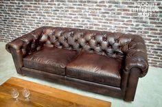 Sofa Dark Chesterfield