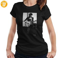 Rolling Stones Keith Richards Playing Guitar Women's T-Shirt (*Partner-Link)