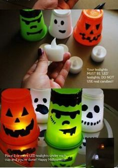 DIY Halloween decorations- Lisa.. some of these look very inexpensive but cute!!