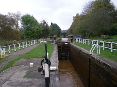 Longboat/Narrow boat canal. Kidsgrove, Stoke on Trent, England.