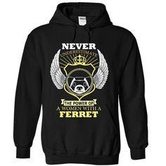 Power of Ferret - #tee verpackung #burgundy sweater. SAVE  => https://www.sunfrog.com/Sports/Power-of-Ferret-4131-Black-12769030-Hoodie.html?60505
