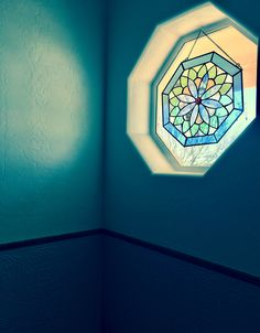 Blue - stain glass