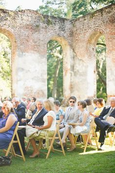 #Wedding Venue: Old Sheldon Church Ruins in Yemassee, South Carolina Photography: Apryl Ann Photography Event Planning: Southern Graces