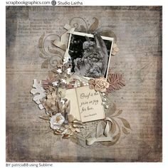 The Price of Love. Created using elements from Sublime - Page Kit By Studio Laitha (http://shop.scrapbookgraphics.com/Sublime-Page-Kit.html)