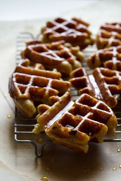 Honey Dipped Doughnut Waffles >> edible perspective @Ashley Walters Walters McLaughlin | Edible Perspective