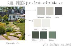 Fail Proof Farmhouse Color Schemes