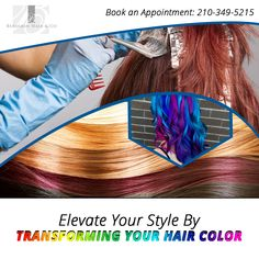 It's astonishing to know that about 1% of the total population have #RedHairColor and #blondeHairColor comes in close to about 2% amongst overall population. Find best #hairColorist in San Antonio.