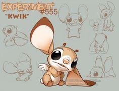 Lilo and Stitch - Kwik (by celesse)