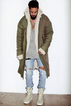 Jerry Lorenzo Models Fear of God's Fourth Collection in 'SENSE'
