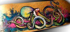 octopus skateboard