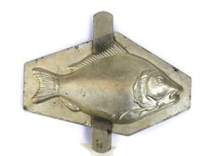 Antique French Chocolate Fish Mold.