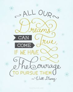 Especially if our dreams are God-inspired ones because they will have God's favour & blessing on their side!
