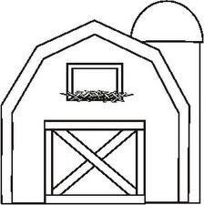 Coloring Page Barn Buscar Con Google Barn Crafts House