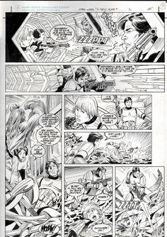 Star Wars A New Hope Special Edition Adaptation #2 pg. 14 by Eduardo Barreto & Al Williamson (Dark Horse 1997) Comic Art