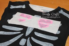Make a Time Lord inspired Skeleton Shirt   Community Post: 21 Doctor Who Inspired Crafts