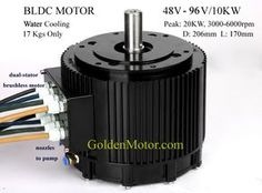 brushless motor, bldc motor,electric motorcycle conversion, Electric motorcycle kit