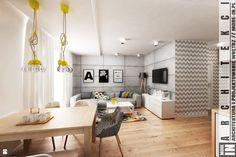 Salon styl Skandynawski - zdjęcie od More IN - Salon - Styl Skandynawski - More IN