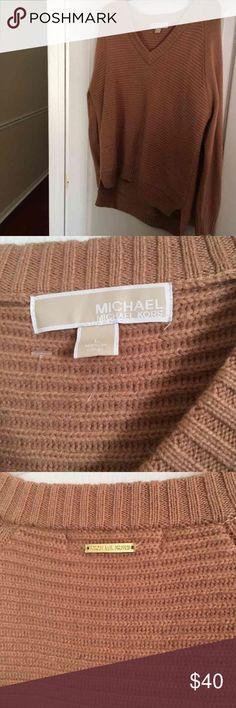 Michael Kors Large Sweater V Neck V Neck Never Worn Ladies Sweater Size Large Michael Kors Sweaters V-Necks