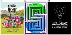 Top 100 des plus belles affiches de festivals français 2013
