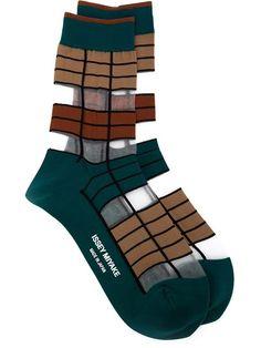Issey Miyake | Gestreifte Socken 62€