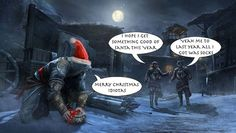 Happy Holiday's and Merry Christmas! Any and every other belief and spirit you love and follow this time of year be filled with joy and happiness!   Assassins Unite! This is a time of peace and freedom throughout man kind!  #AssassinsCreedChristmas #GeekVersePodcast #assassinscreed #assassins #ubisoft #assassinscreedmovie #aguilardenerha #assassinscreed #assassins #creed #assassin #ac #assassinscreeed2 #assassinscreedbrotherhood #assassinscreedrevelations #assassinscreed3…