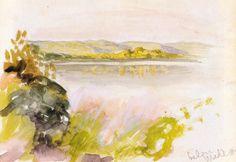 harlan hubbard paintings - Google Search