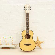92.89$  Watch here - http://alilbp.worldwells.pw/go.php?t=32760929203 - Deviser Ukulele UK-LA6 26 Inch Light Tiger Stripes Rotten Spruce Panel Four-string Guitar musical instrument
