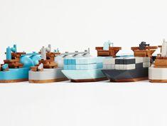 Emma Maersk, Arctic Princess and TI Asia by Postlerferguson