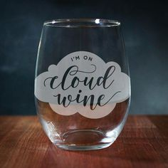 Funny Wine Glass Engraved Wine Glass Stemless Wine Glass Punny Gifts Wine Puns Funny Wine Sayings Birthday Gift by ChicagoFactoryGifts If you love wine as much as we do, check out our wine art canvas wrap range - click that link! Wine Glass Sayings, Wine Quotes, Funny Wine Sayings, Vinyl Sayings, Wine Craft, Wine Bottle Crafts, Wine Puns, Wine Funnies, Funny Wine Glasses