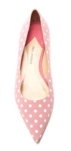 Pink dot flats