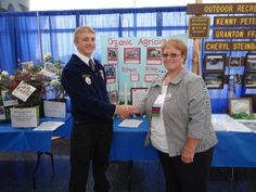 We know how important our youth are to a sustainable future, and were so honored to sponsor the first ever #FFA (Future Farmers of America) Organic Proficiency Award in the state of Wisconsin. Through this award, we're able to recognize tenacious individuals who demonstrated skills in organic entrepreneurship and farming. Here's Ethan Riley, our first  ever WI FFA #Organic Proficiency #Award #Winner!
