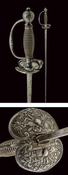 A decorated smallsword,dating: 18th Century provenance: France.