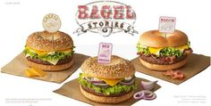 McDonald's Bagel Burgers Make a Limited Time Entrance in France