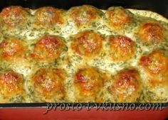 Oven-style chicken meatballs in cream sauce – Chicken Recipes Italian Chicken Dishes, Mexican Chicken Recipes, Fish Recipes, Meat Recipes, Cooking Recipes, Chicken Snacks, Oven Chicken, Chicken Meatballs, Turkey Dishes
