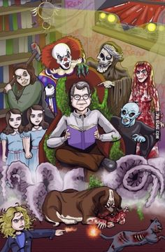 Any Stephen King fans here? Whos your favorite Stephen King villain?