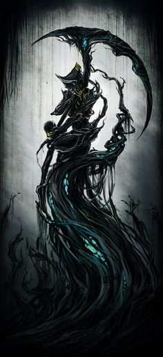Warframe - Sentimental Nekros by yuikami-da.deviantart.com on @deviantART