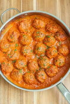 Traditional Russian meatballs aka Tefteli are soft, juicy and intensely flavored.