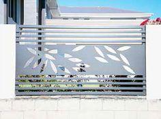 Decorativos retangulares para portão