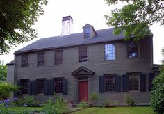 Georgian dates: 1700 to 1780Features: Symmetrical facade; double-hung windows with nine or 12 lights in each sash; paneled door with pilasters, transom lights, and sometimes a pedimented crown; brick in the South, clapboards in the North; dentil molding at the cornice. American Georgian architecture is based on earlier European styles (not the British Georgian style of the same period), which emphasized classical Greek and Roman shapes. Georgian houses could be found in every part of the…