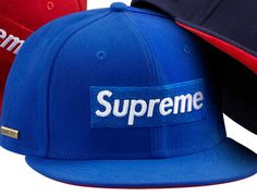SUPREME x GORE-TEX x NEW ERA「Box Logo」59Fifty Fitted Baseball Caps Preview