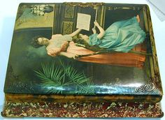 Vintage Photo Album & Music Box