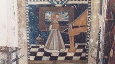"""""""Frau mit Klavier"""" von Julius Klingebiel."""