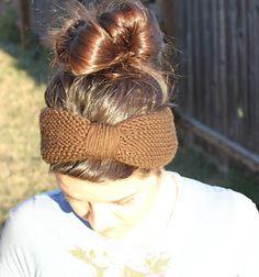 Ravelry: Easy Peasy Turban Earwarmer pattern by Courtney Fikes
