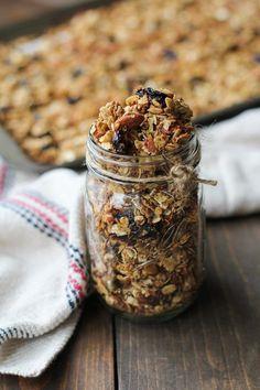 Heart-Healthy Homemade Granola