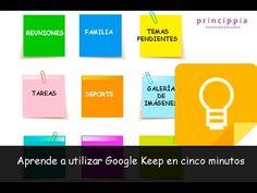 Empieza a crear tableros colaborativos con Google Keep                                    Princippia, Google Suite en Educación